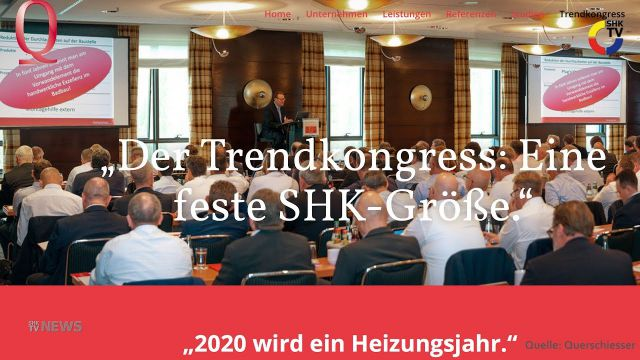 Embedded thumbnail for Trendkongress zur Lage in der SHK-Branche
