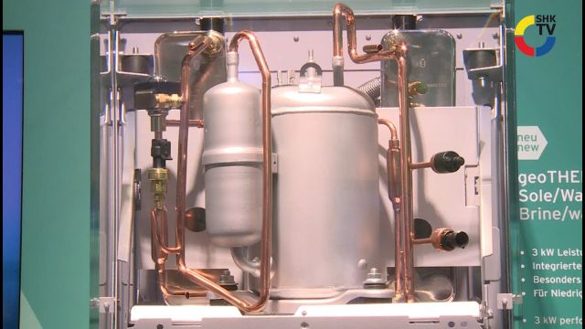 Embedded thumbnail for Vaillant: Wärmepumpe geoTherm 3 kW