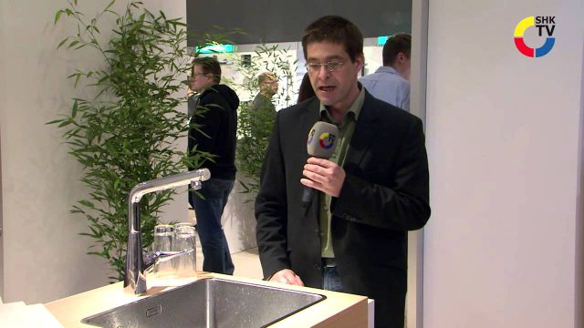 Embedded thumbnail for Hansgrohe: Küchenarmatur Metris Select