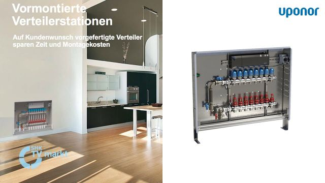 Embedded thumbnail for Uponor: Vormontierte Verteilerstationen