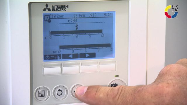 Embedded thumbnail for Mitsubishi Electric: Raumtemperatur Regelung