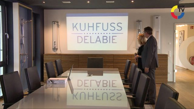 Embedded thumbnail for Neuer Showroom von Kuhfuss Delabie