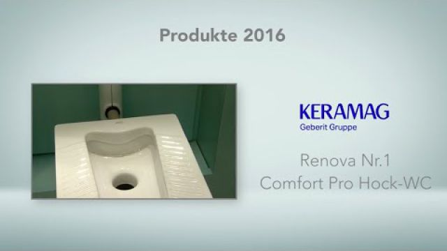 Embedded thumbnail for Keramag: Renova Nr. 1 Comfort Pro Hock-WC