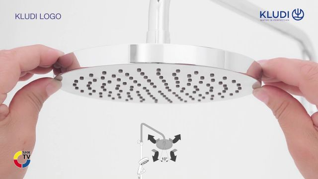 Embedded thumbnail for KLUDI LOGO Dual Shower System 3S