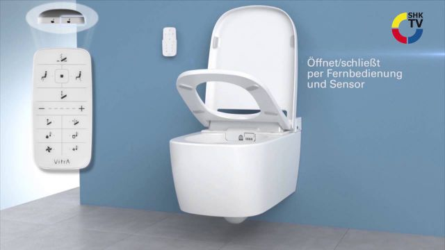 Embedded thumbnail for VitrA: Dusch-WC V-care