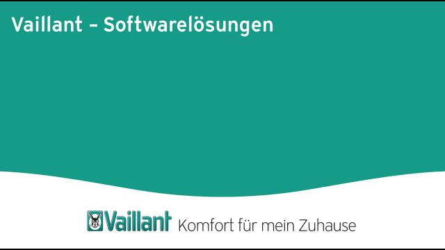 Embedded thumbnail for Softwarelösungen von Vaillant