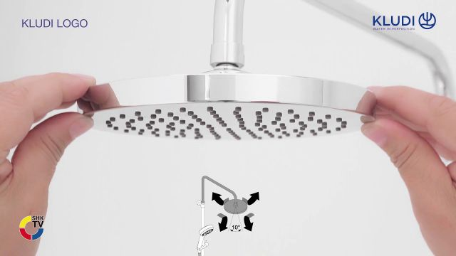 Embedded thumbnail for KLUDI LOGO THM Dual Shower System 1S