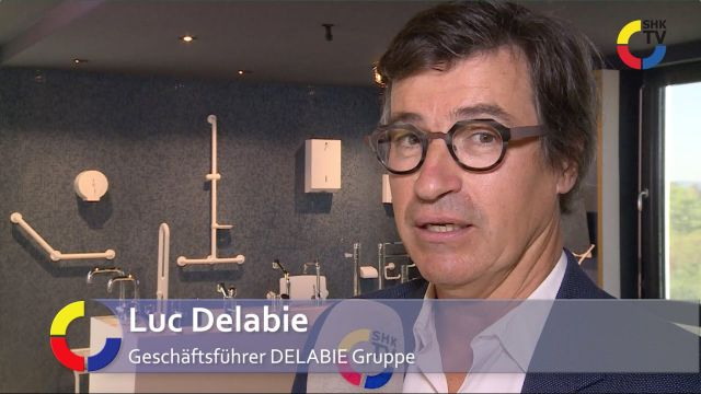 Embedded thumbnail for SHK-TV trifft Luc Delabie