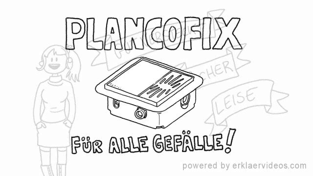 Embedded thumbnail for Bodenablaufpumpe Plancofix