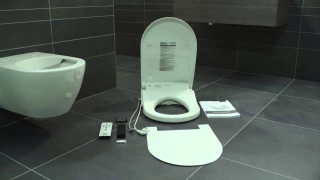 Embedded thumbnail for Villeroy & Boch: Montage Dusch-WC ViClean-U