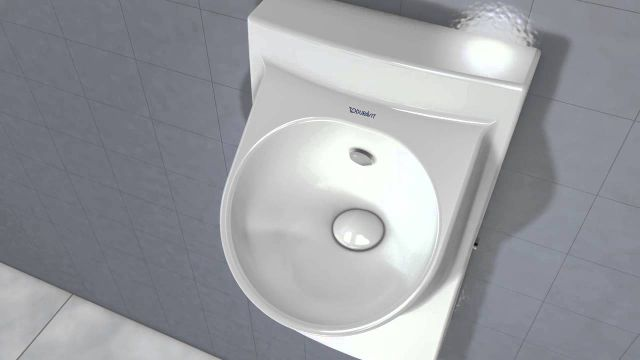 Embedded thumbnail for Duravit: Architec Urinal Spülvorgang Spüldüse