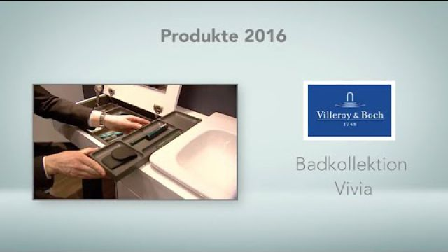 Embedded thumbnail for Villeroy & Boch: Badkollektion Vivia