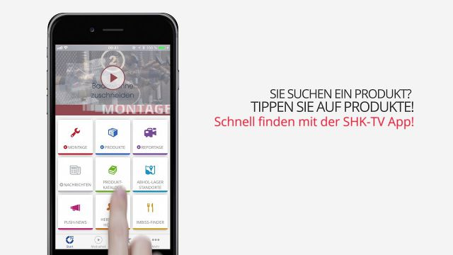 Embedded thumbnail for SHK-TV App: Produkte