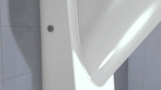 Embedded thumbnail for Duravit: Architec Urinal Spülvorgang Spülrand