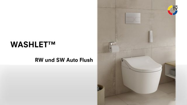 Embedded thumbnail for Washlet RW und SW Auto Flush