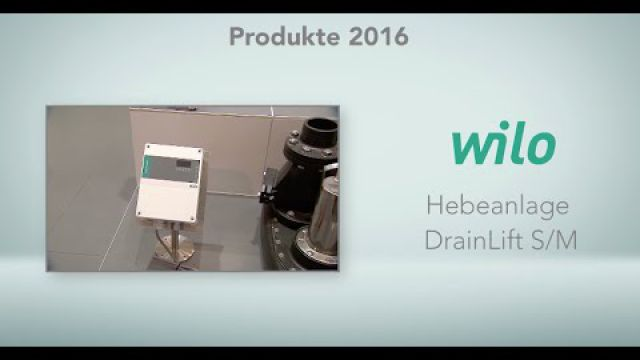 Embedded thumbnail for Wilo: Hebeanlage DrainLift S/M